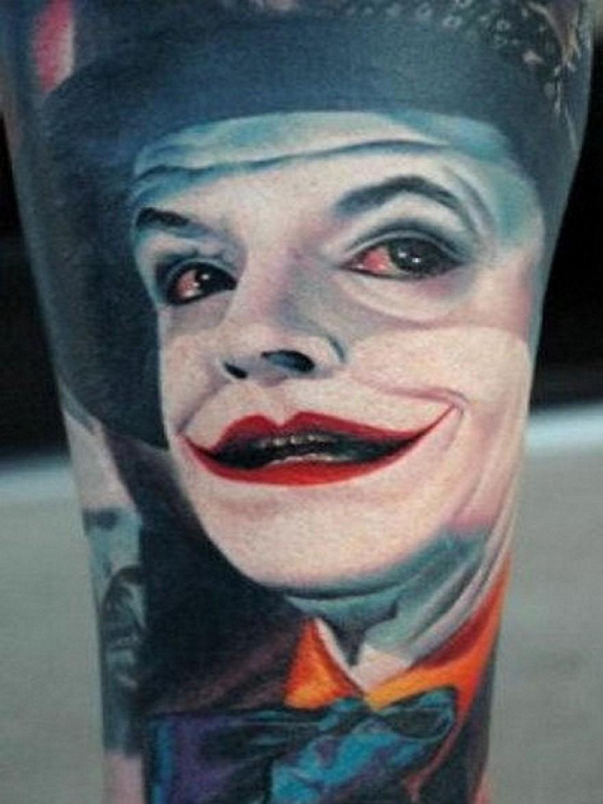 Tattoo Joker Face Online Casino Portal