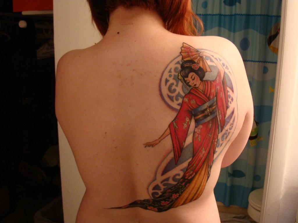 Geisha Tattoo Images