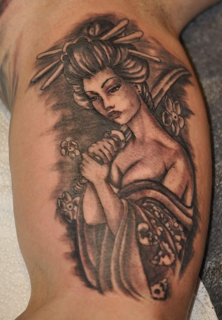 Geisha Tattoo Meaning