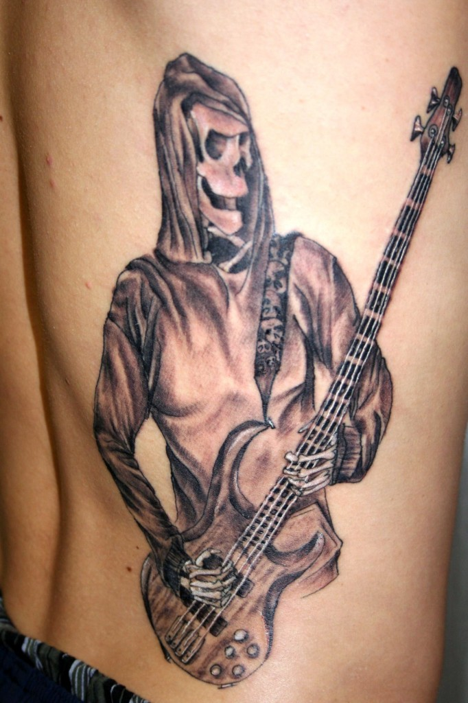 guitar tattoos designs ideas and meaning tattoos for you