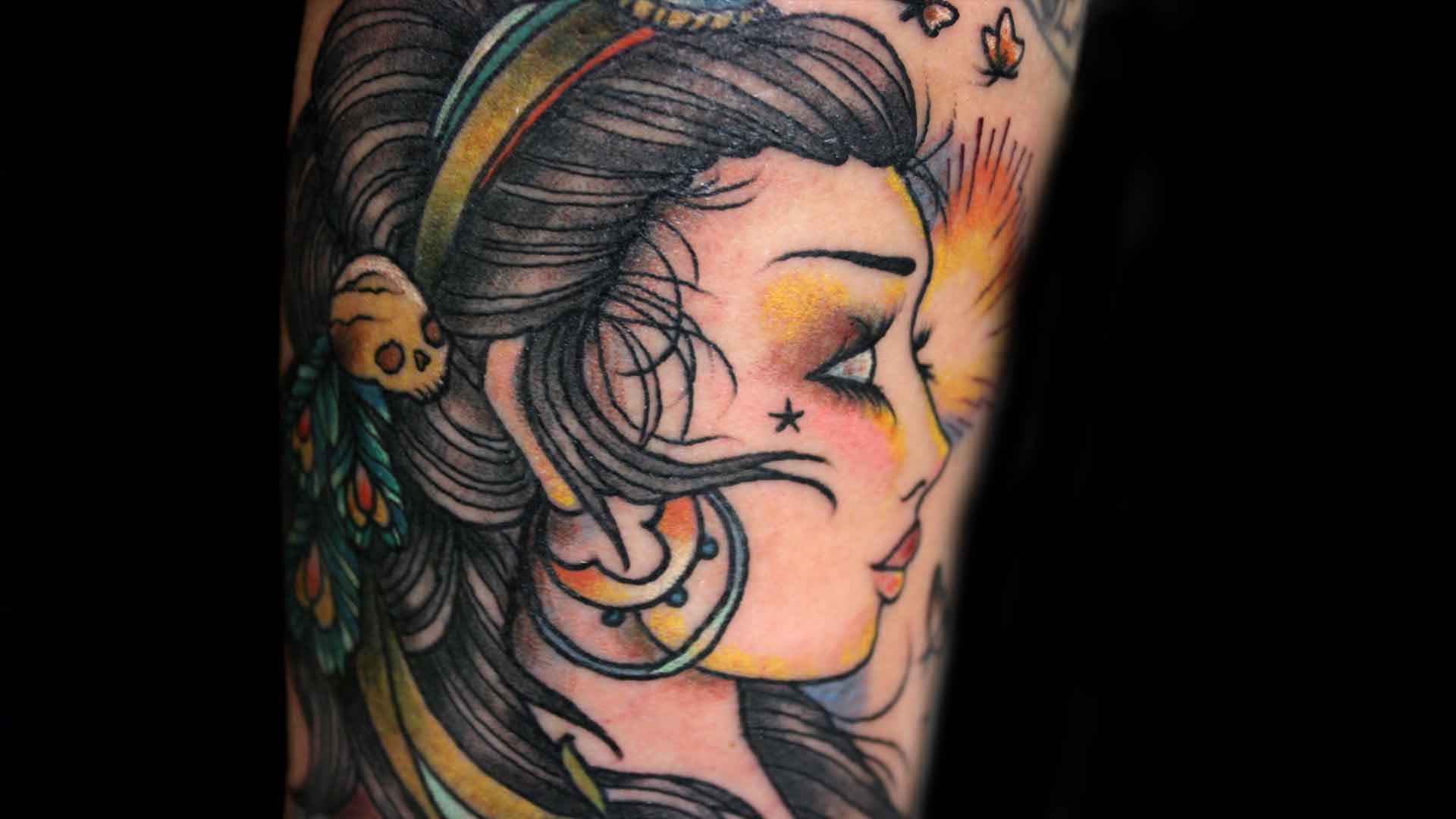 Gypsy Tattoos Designs, Ideas and Meaning | Tattoos For You