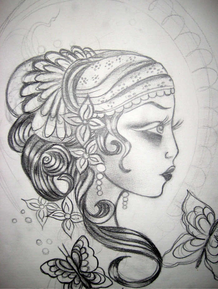 Gypsy Tattoos Designs
