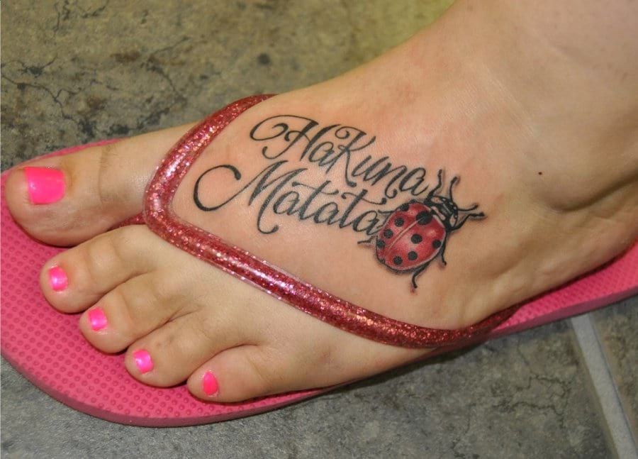 Hakuna Matata Tattoos Designs Ideas And Meaning Tattoos For You