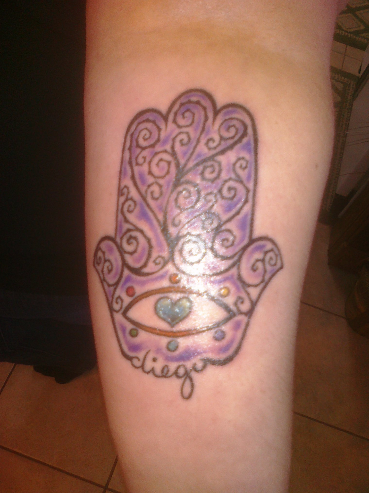 Hamsa Tattoos Designs, Ideas and Meaning