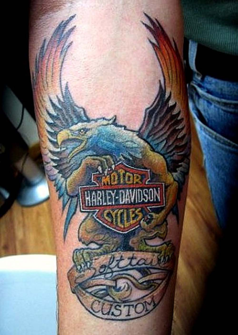 Aninimal Book: Harley Davidson Tattoos Designs, Ideas and Meaning ...