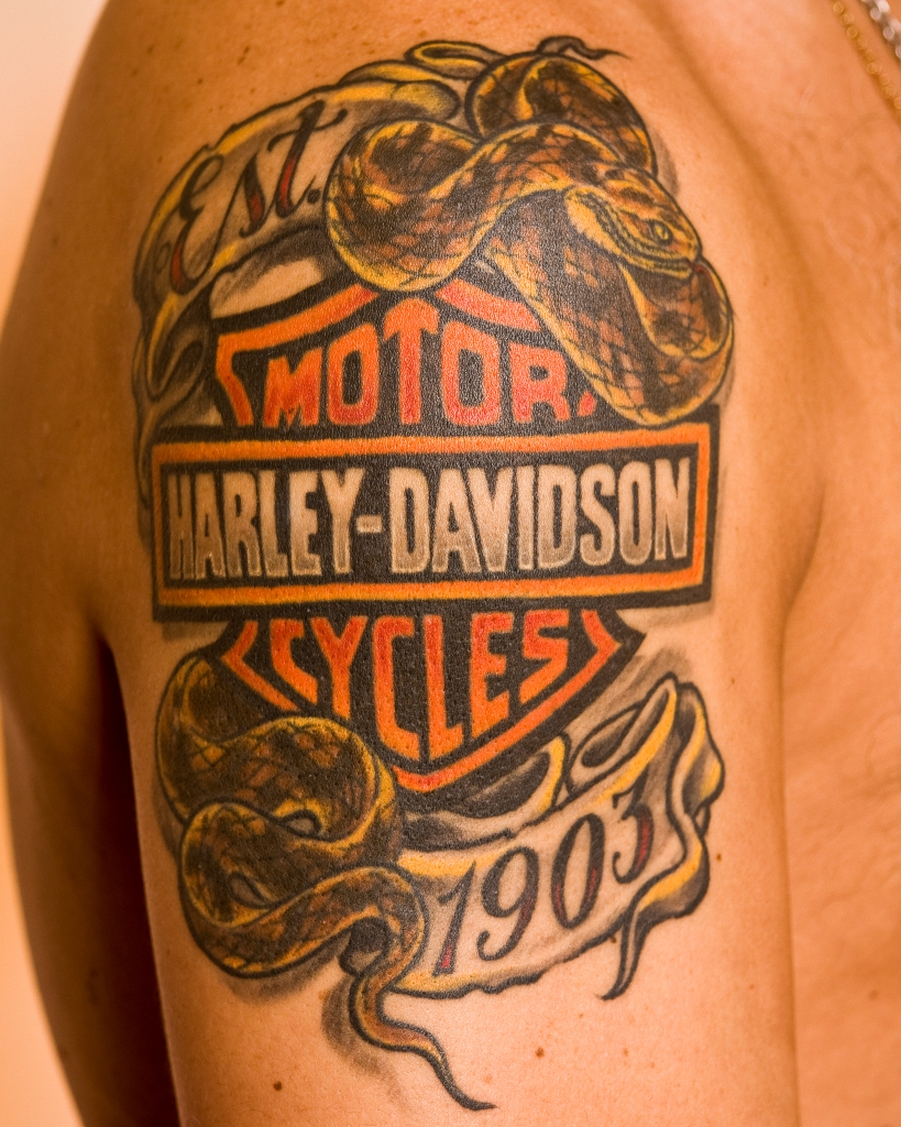 harley davidson tattoos designs ideas and meaning tattoos for you. Black Bedroom Furniture Sets. Home Design Ideas