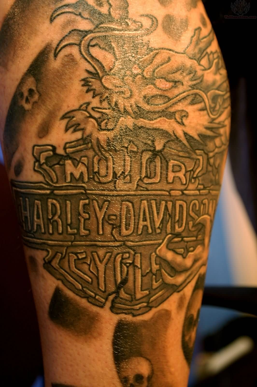 Harley Davidson Tattoos Designs Ideas And Meaning