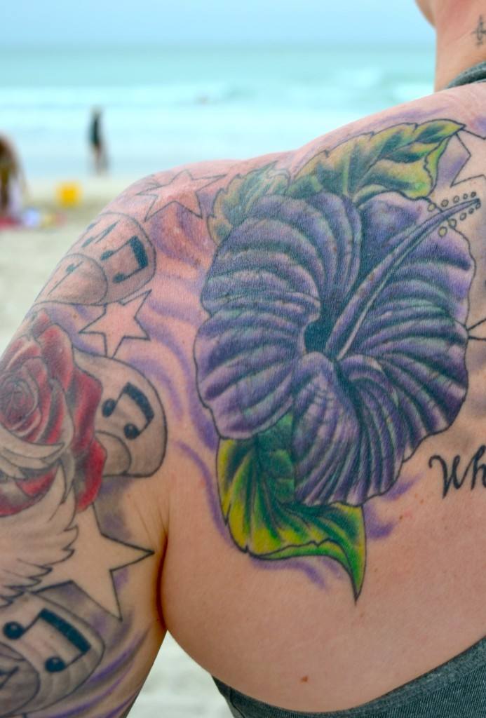 Hibiscus Flower Tattoo Pictures