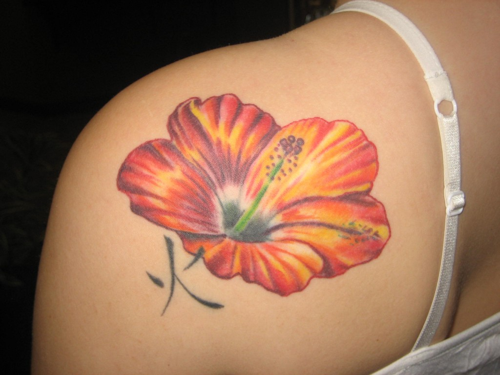 Hibiscus Tattoos Designs Ideas and Meaning