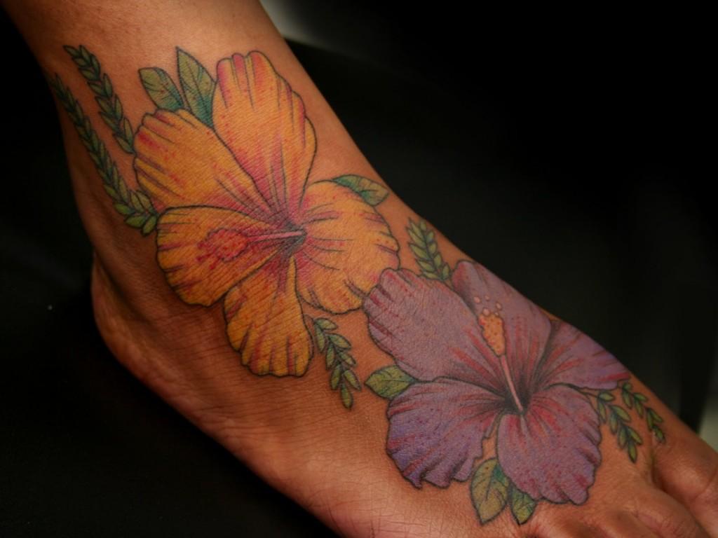 Hibiscus Tattoo Pictures