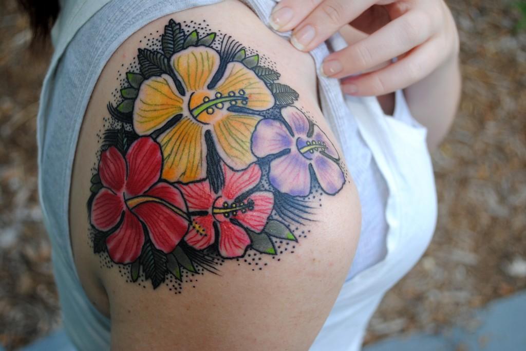 Hibiscus Tattoos Images