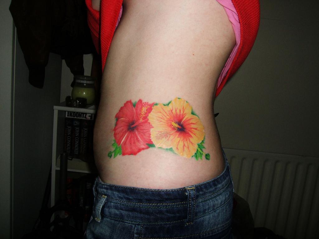 Hibiscus Tattoos Pictures