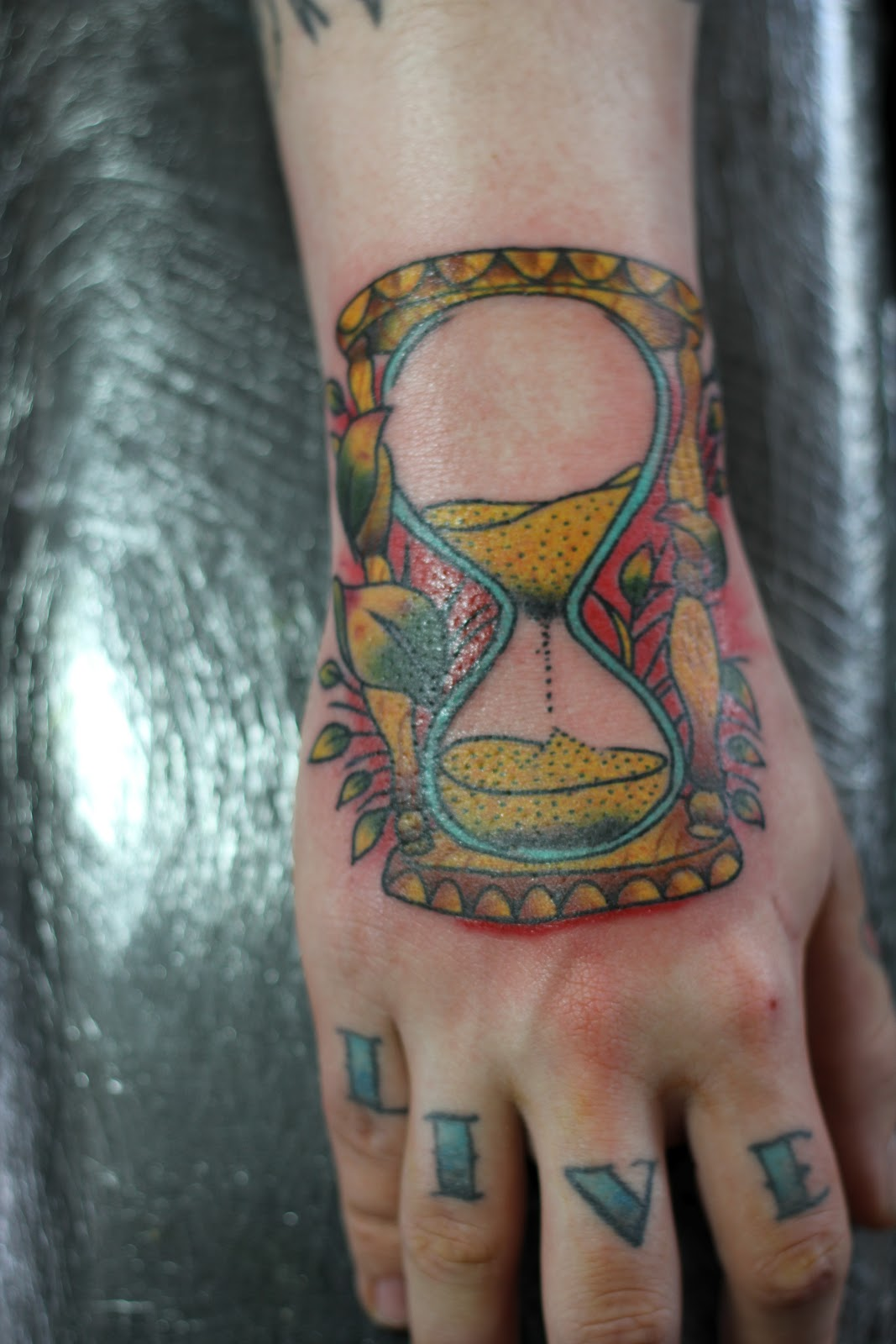 hourglass tattoos designs  ideas and meaning