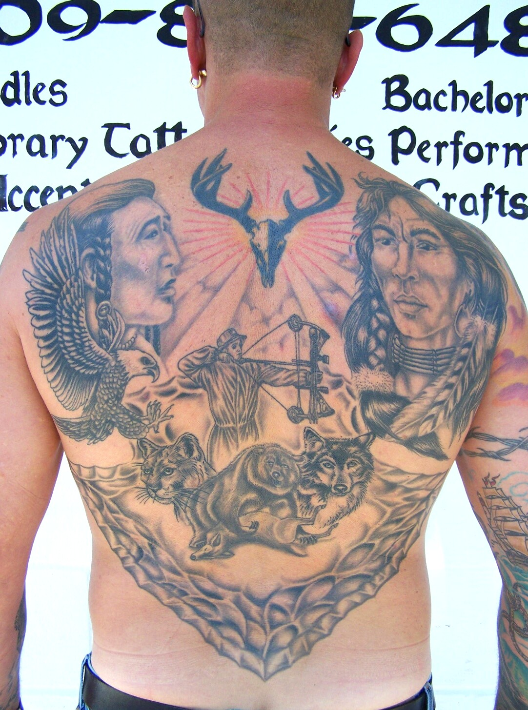 hunting tattoos designs  ideas and meaning