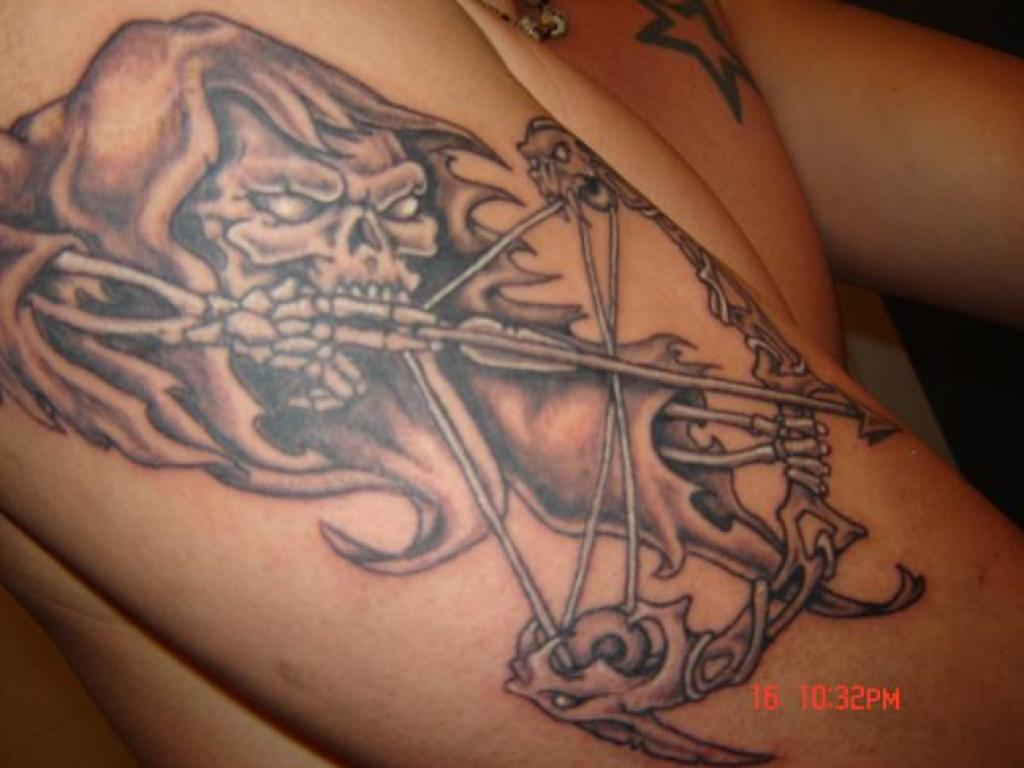 Hunting tattoos designs ideas and meaning tattoos for you for Archery tattoo pictures