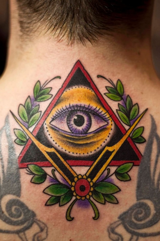 Illuminati Eye Tattoos
