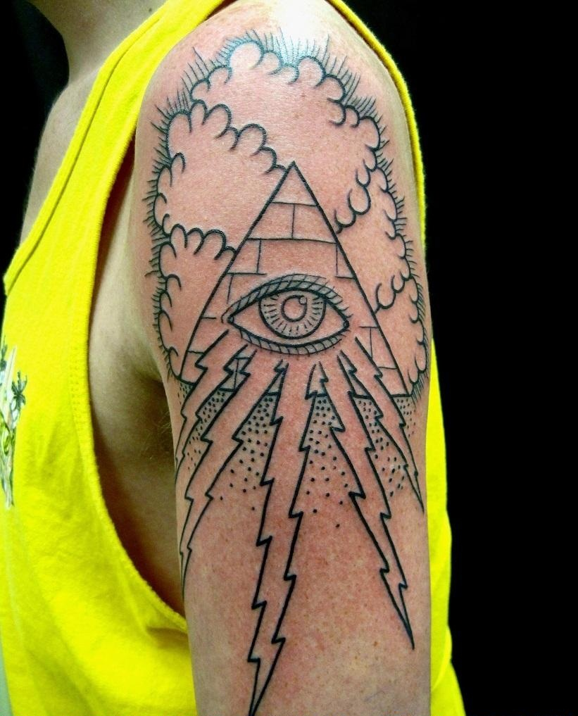 illuminati tattoos designs ideas and meaning tattoos for you. Black Bedroom Furniture Sets. Home Design Ideas