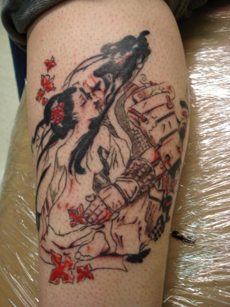 Japanese Geisha Tattoo