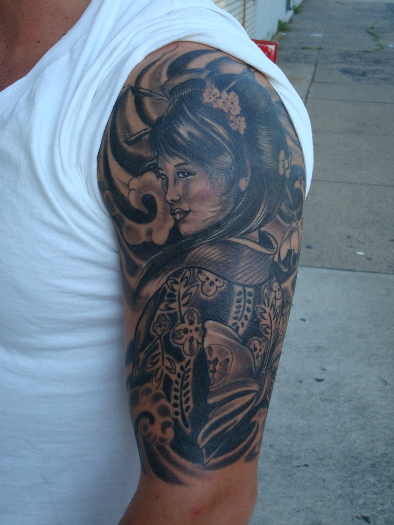 Geisha Tattoos Designs Ideas And Meaning Tattoos For You