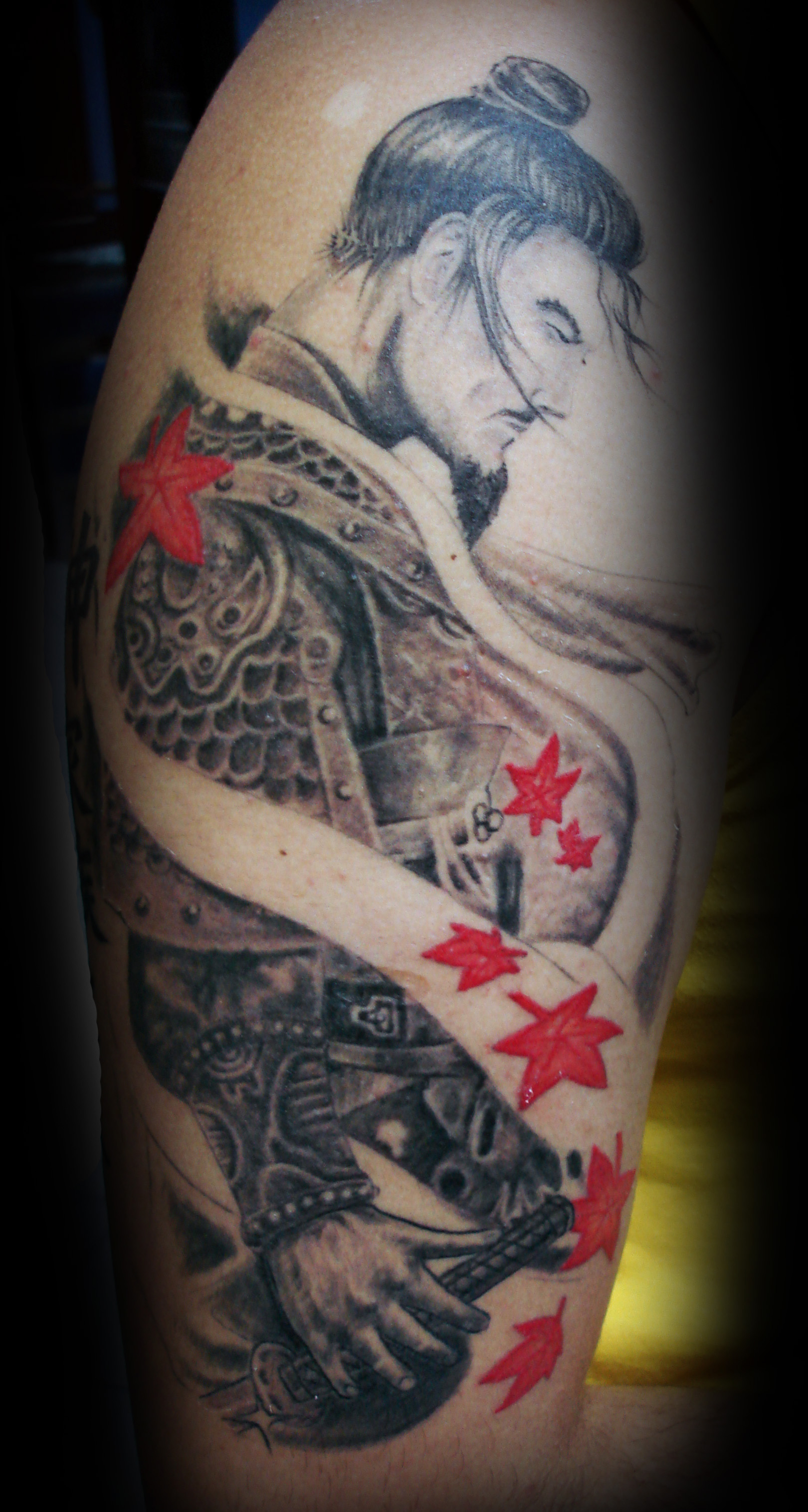 Samurai tattoos designs ideas and meaning tattoos for you for Oriental tattoo