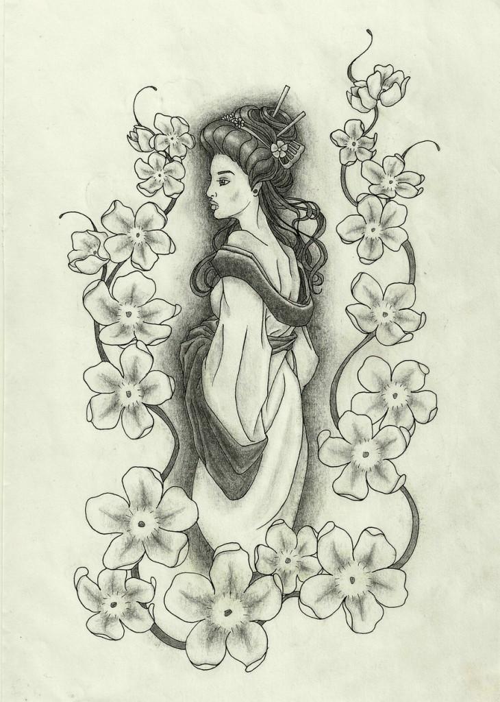 Japanese Tattoo Geisha