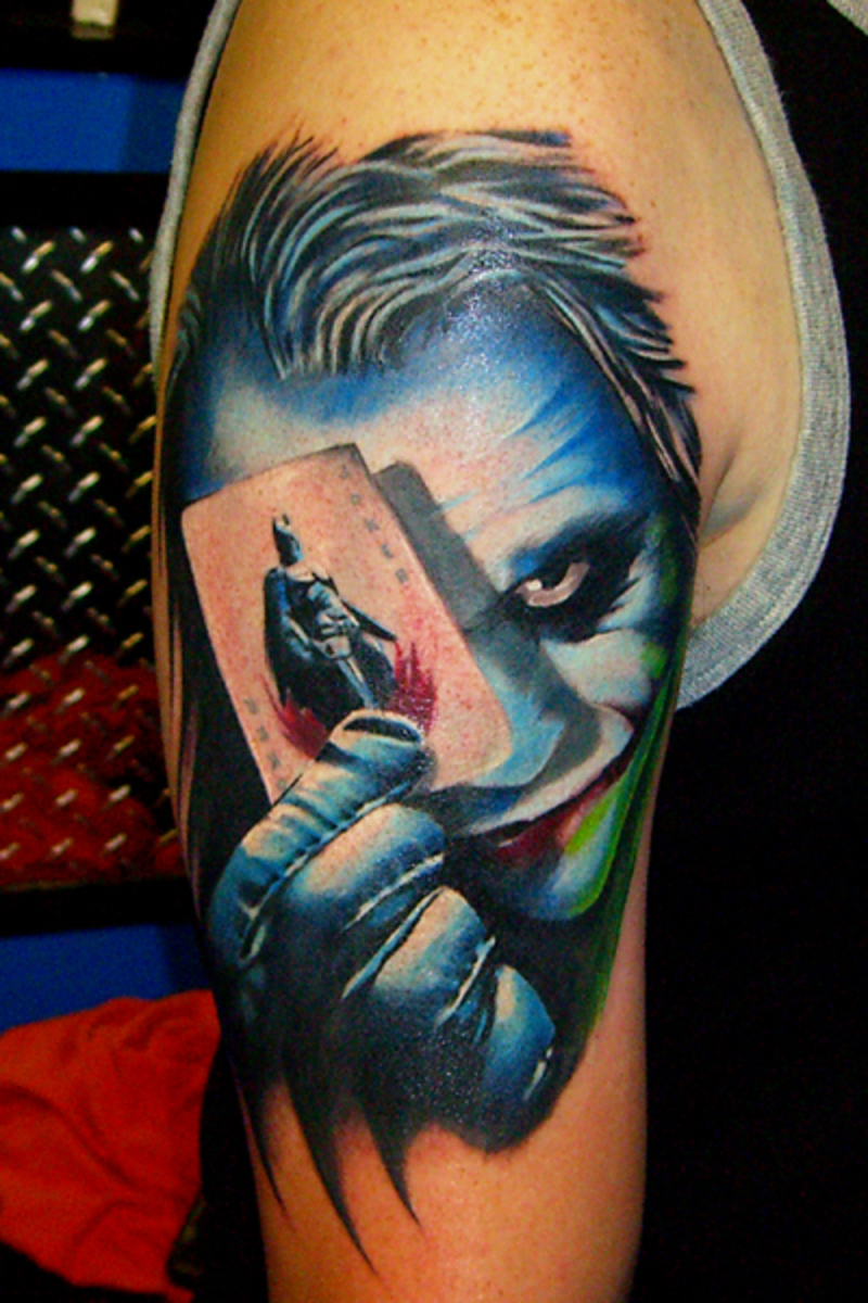 joker tattoo designs pictures - photo #3