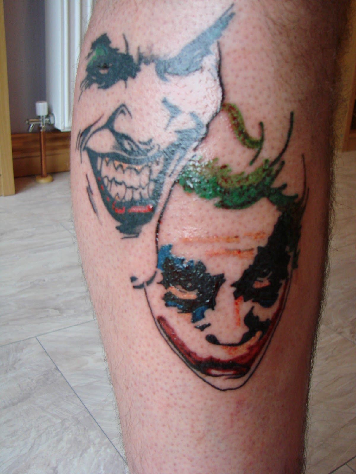 Joker Hand Tattoos