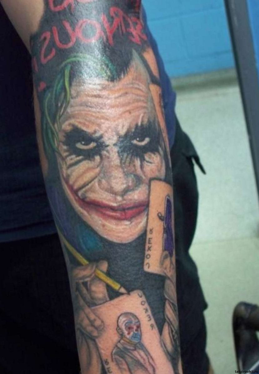 joker tattoo designs pictures - photo #6