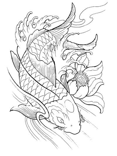 Koi Tattoos Designs, I...