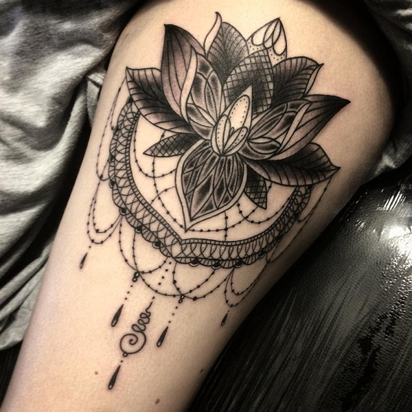 Flower Tattoos Designs Ideas And Meaning: Lace Tattoos Designs, Ideas And Meaning
