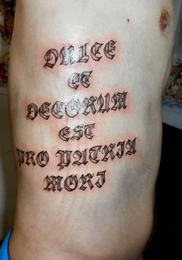 Latin tattoo quotes with meanings