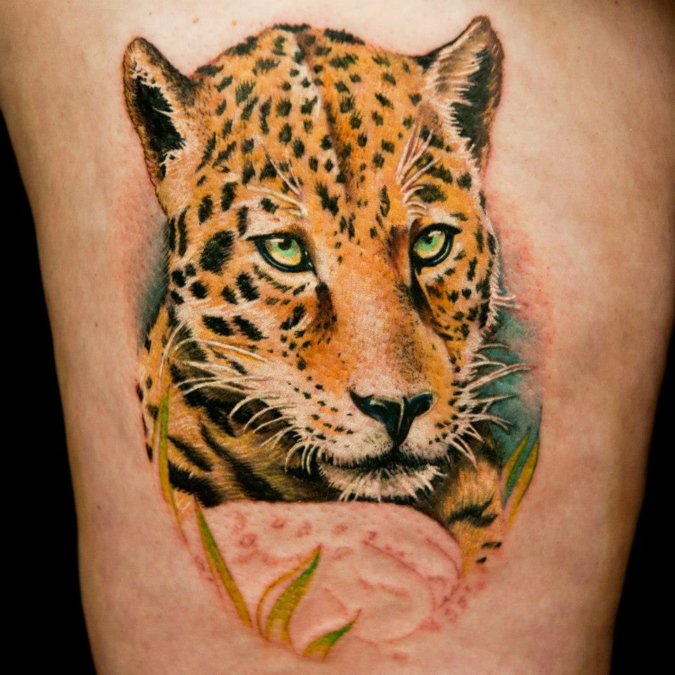 Leopard Tattoos Designs, Ideas And Meaning