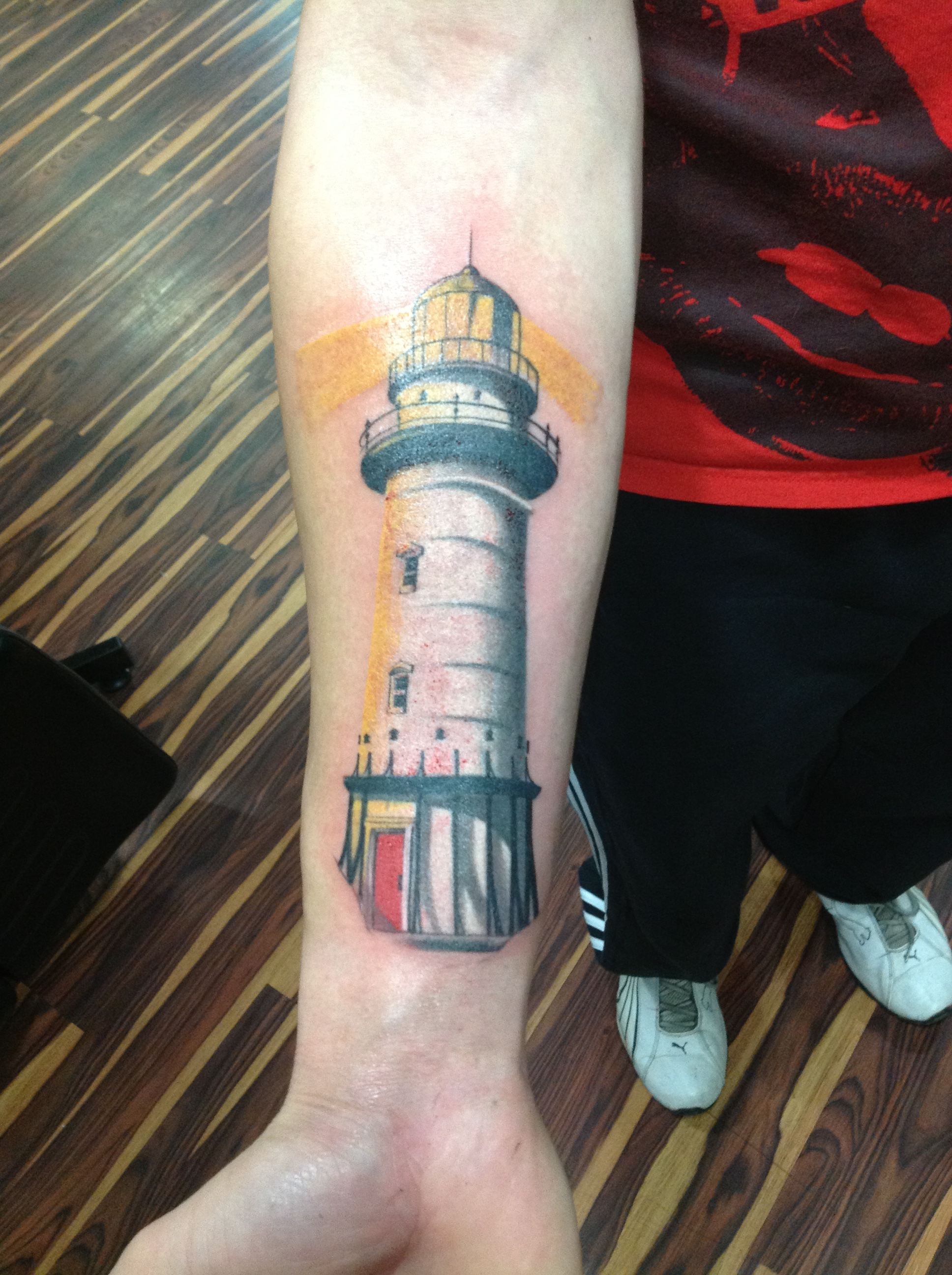 Lighthouse Tattoos Designs Ideas And Meaning Tattoos For You