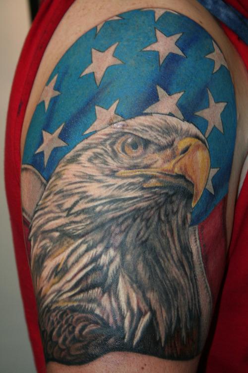 American Symbols Of Patriotism Patriotic Tattoos Desi...