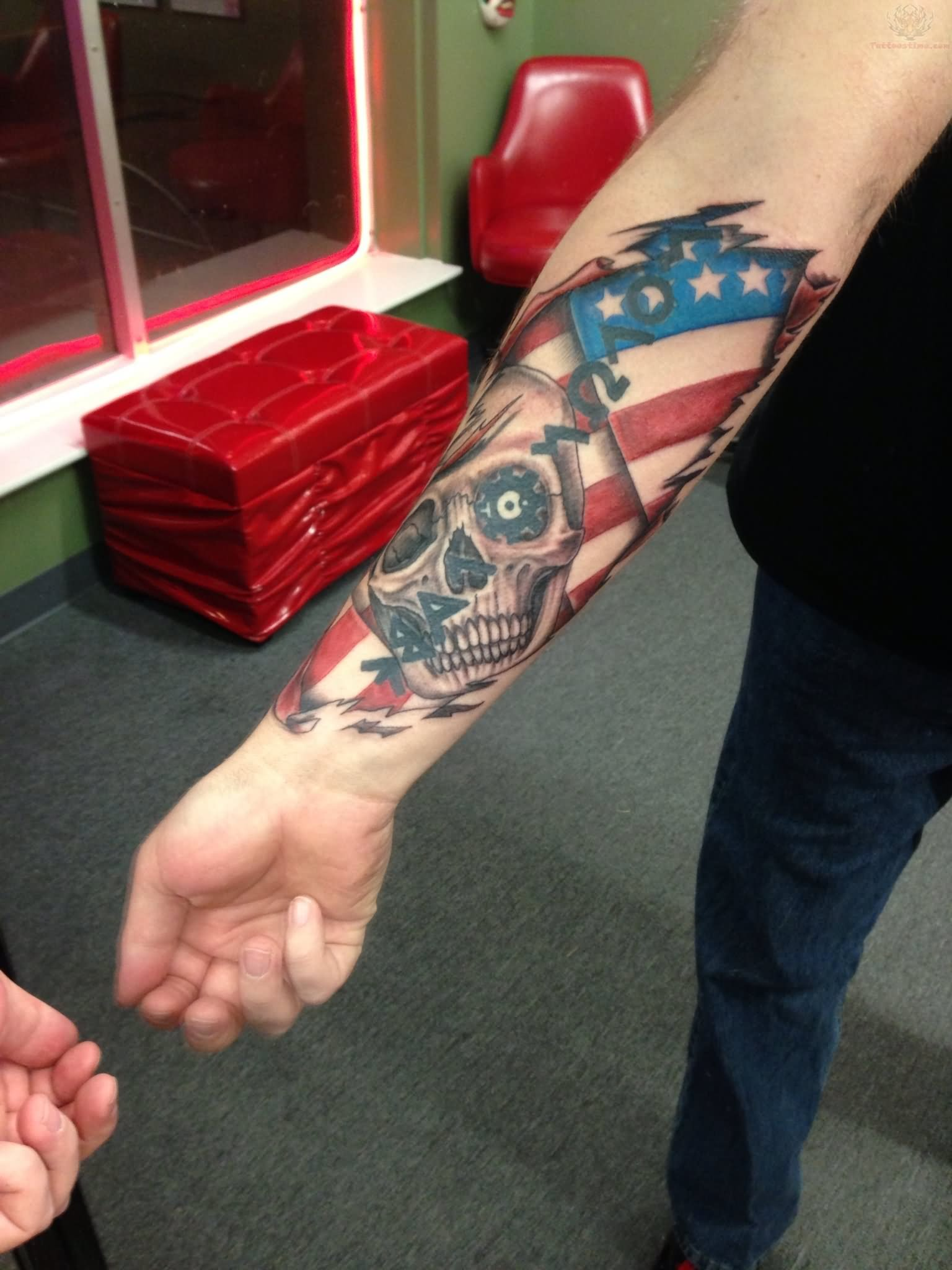 5dea40762 Patriotic Tattoos Designs, Ideas and Meaning | Tattoos For You