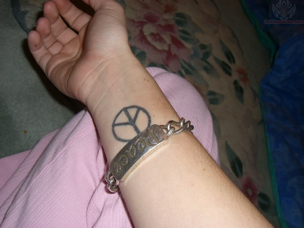 Peace Sign Tattoos Designs Ideas And Meaning Tattoos For You