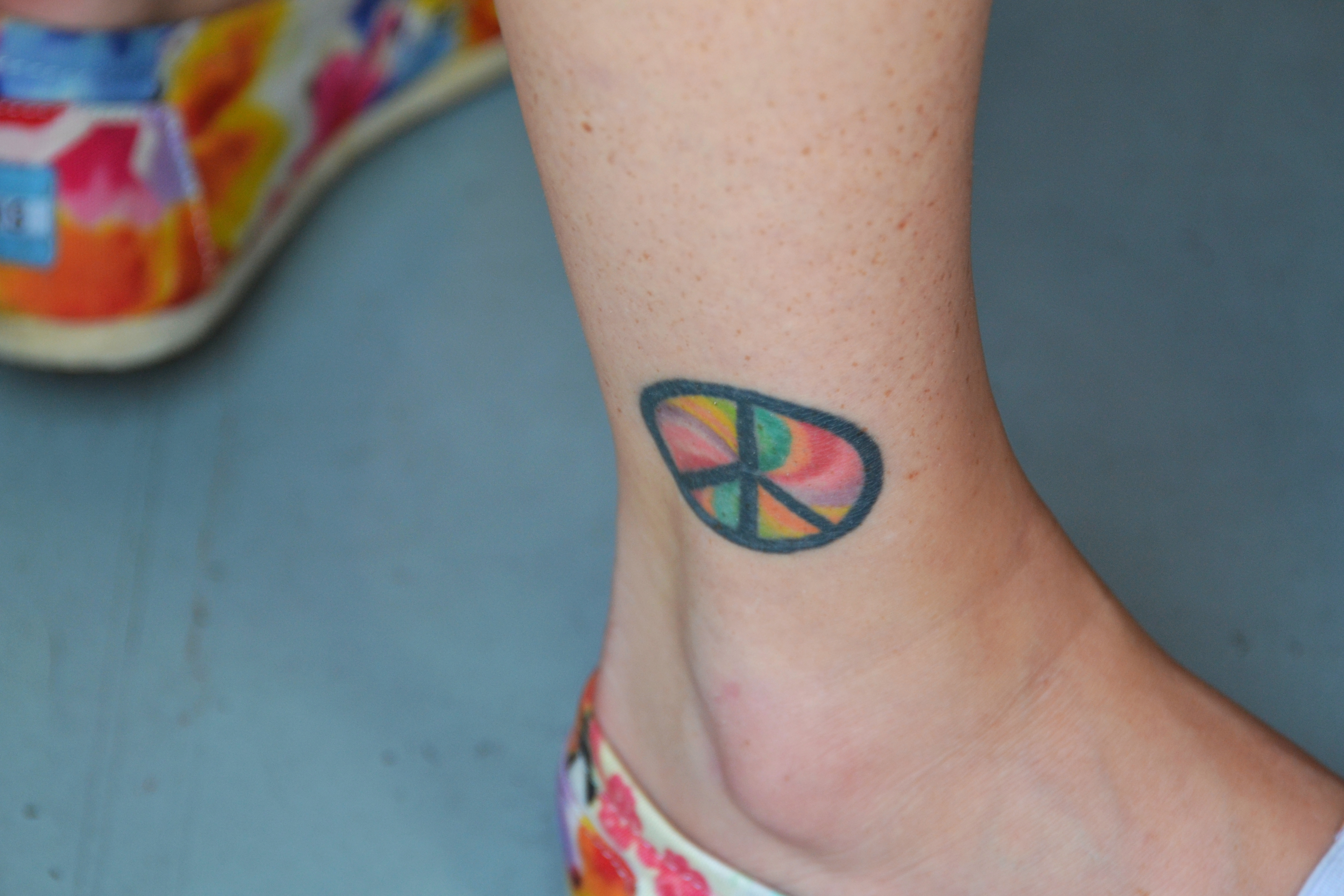 Peace Sign Tattoos Designs, Ideas and Meaning | Tattoos ...