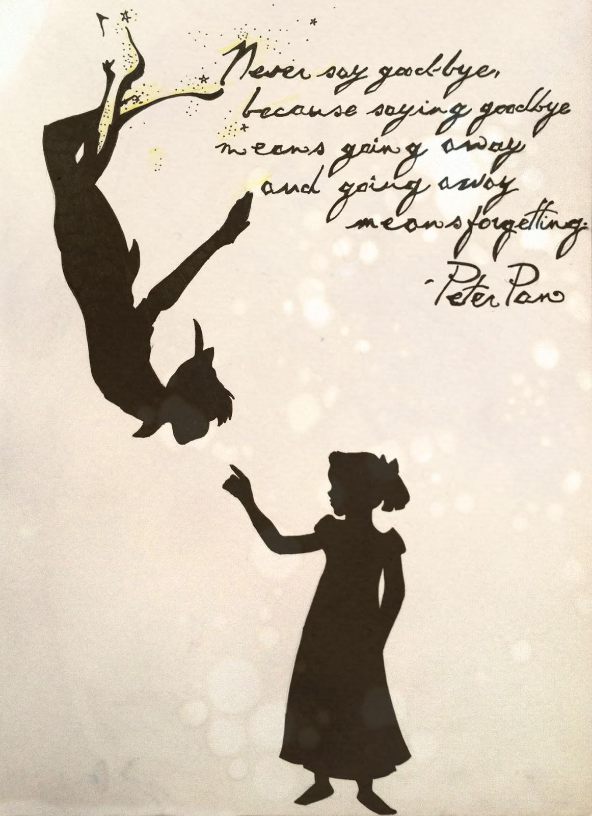 Disney Zitate Peter Pan