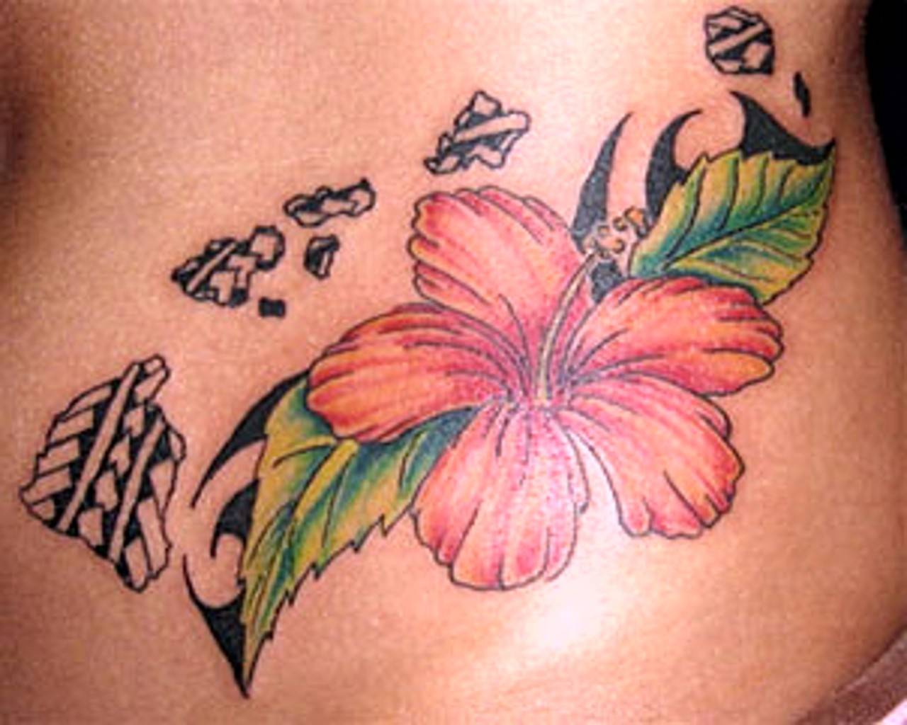 Hibiscus tattoos designs ideas and meaning tattoos for you pictures of hibiscus flower tattoos izmirmasajfo