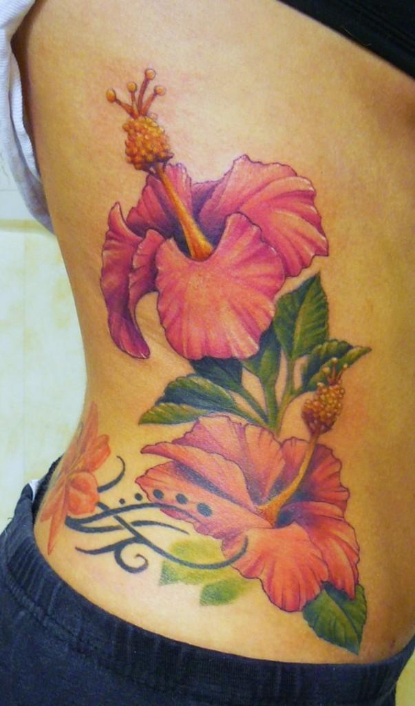 Pictures of Hibiscus Tattoos