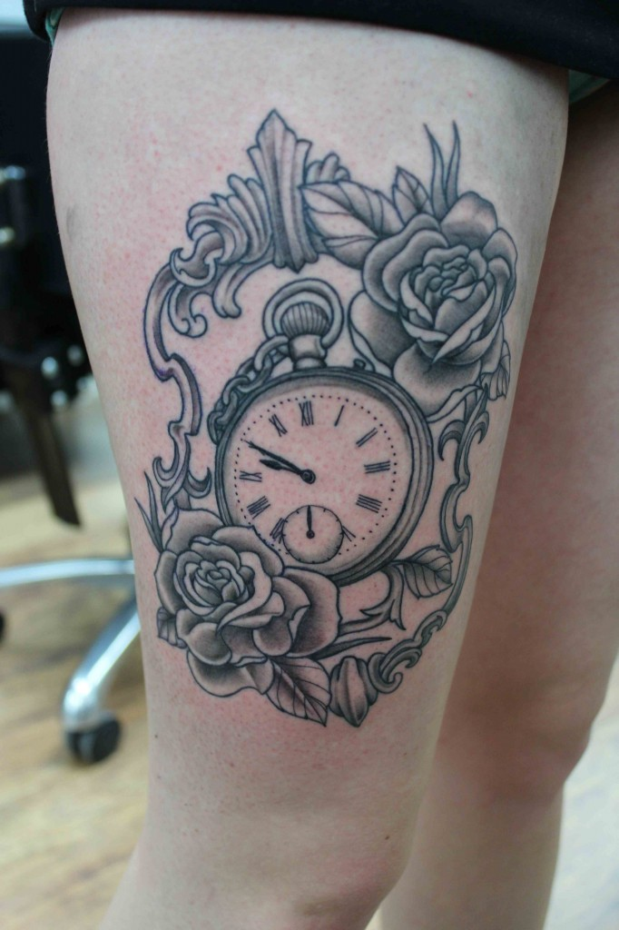 Pocket Watch Tattoos D...