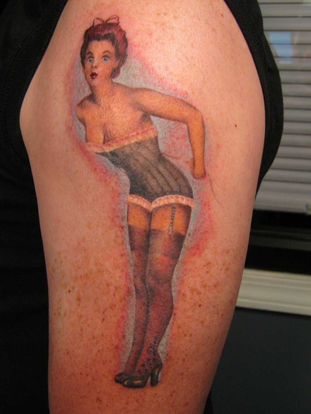 d678171f2 Pin Up Tattoos Designs, Ideas and Meaning | Tattoos For You
