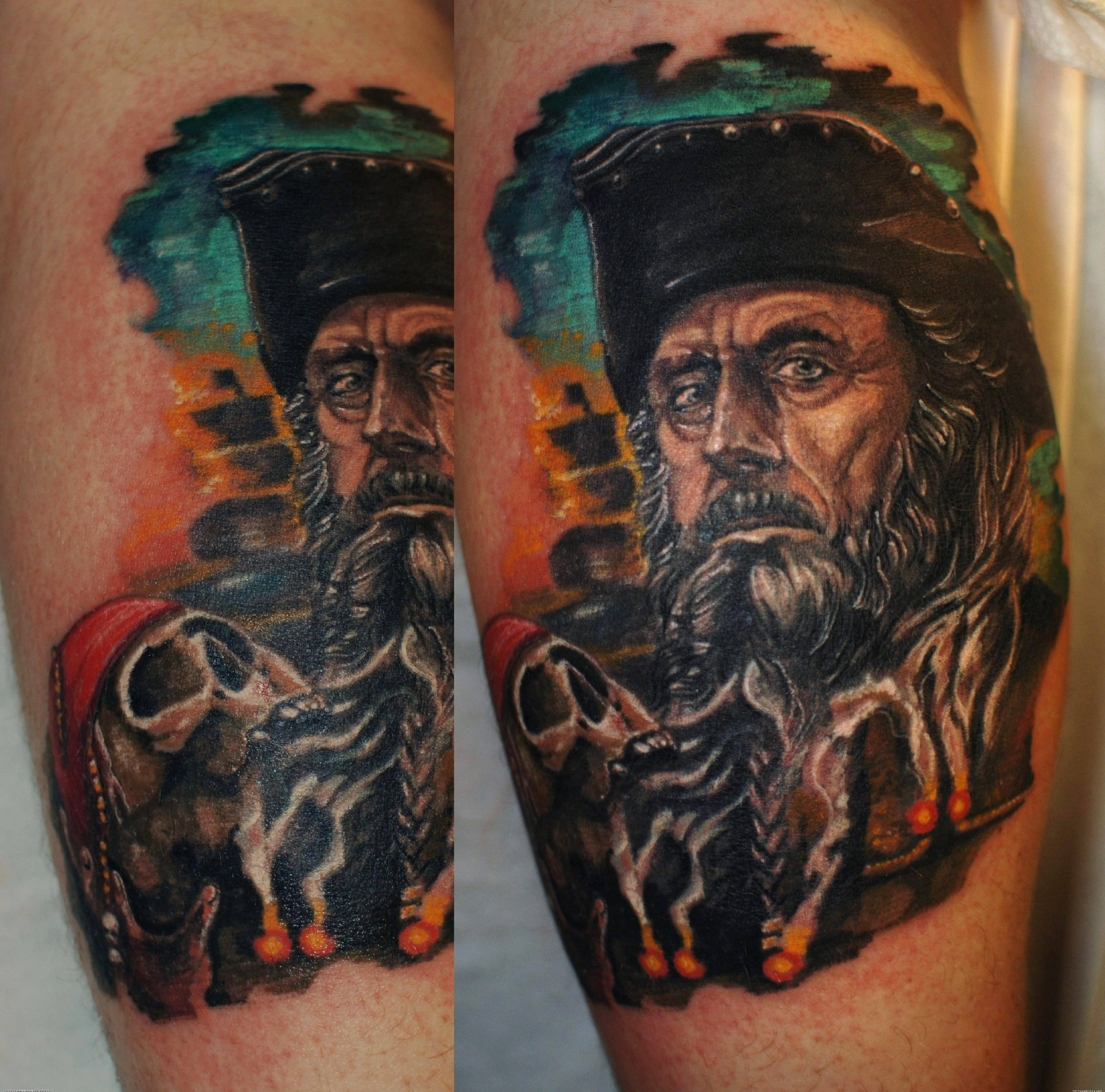 Blackbeard pirate ship tattoo - photo#18