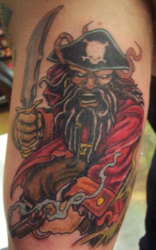 Pirate Tattoos Designs...