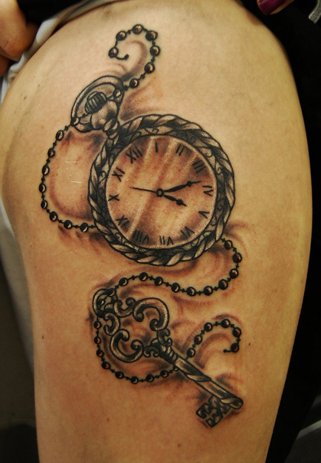 Pocket Watch Tattoos Designs, Ideas And Meaning