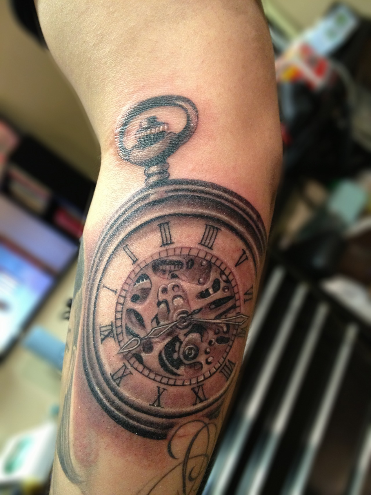 pocket watch tattoos designs ideas and meaning tattoos ForPocket Watches Tattoos