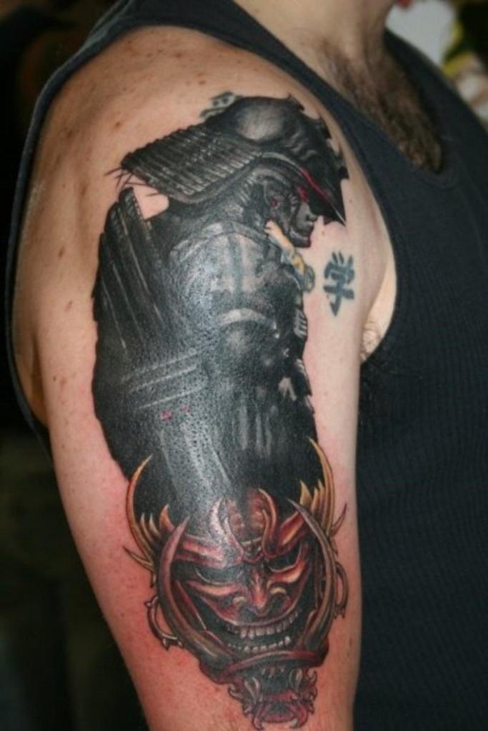 Samurai Tattoos Designs, Ideas and Meaning
