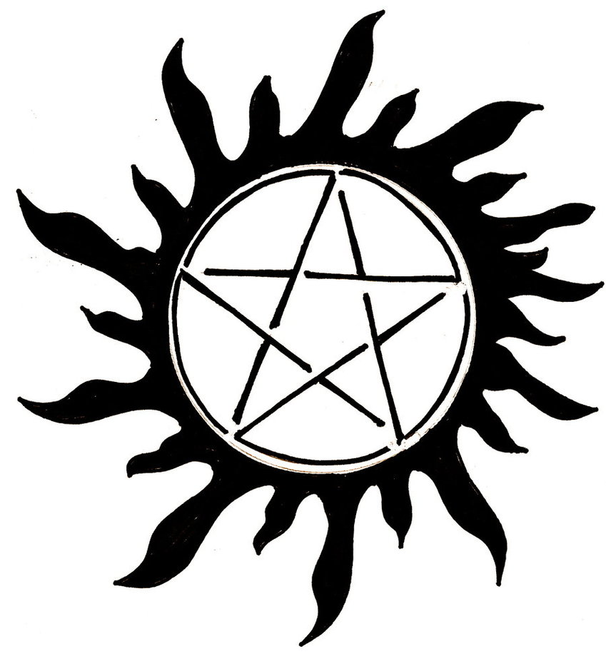 Supernatural Tattoo Designs