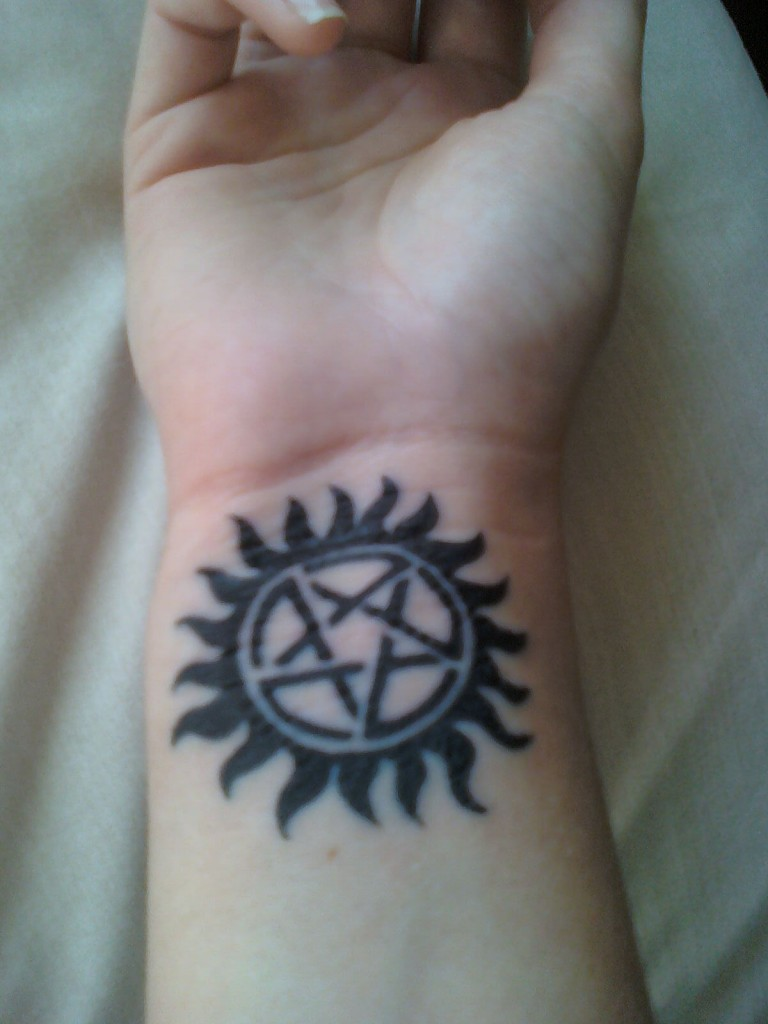 Supernatural Tattoo For Wrist