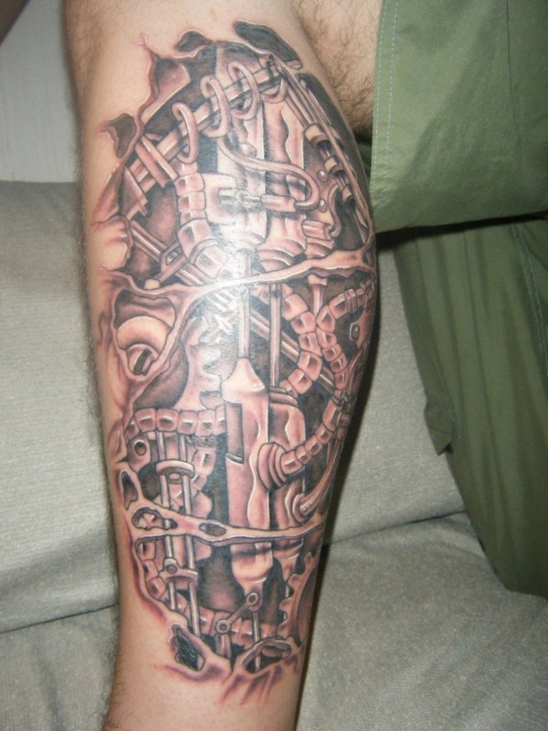 Biomechanical Tattoos Designs, Ideas And Meaning